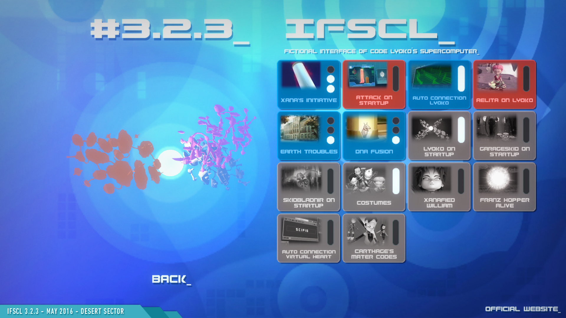 IFSCL 3.2.3 - screens