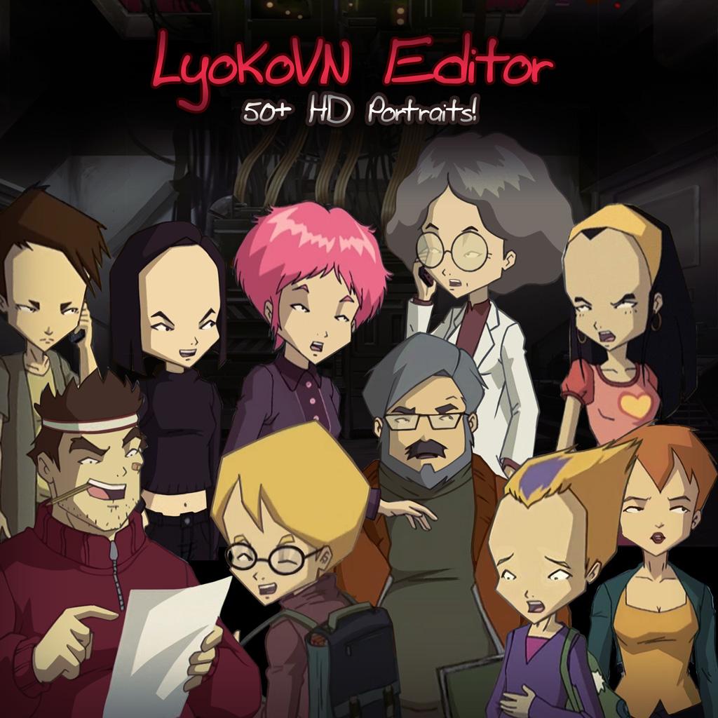 LyokoVN portraits
