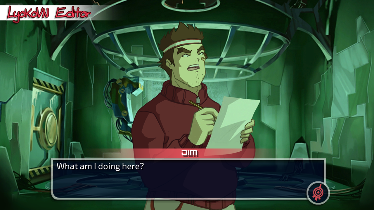 screenshot lyoko visual novel