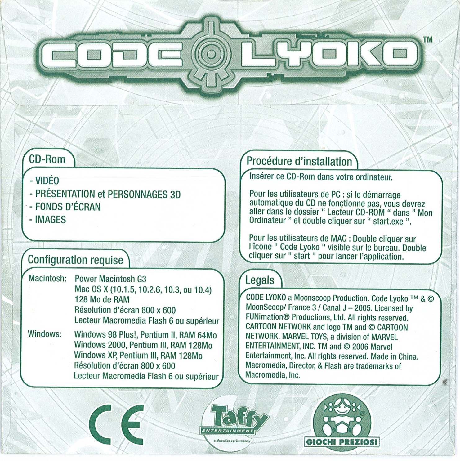 Related Products > Bonus CDs • Code Lyoko - CodeLyoko Fr