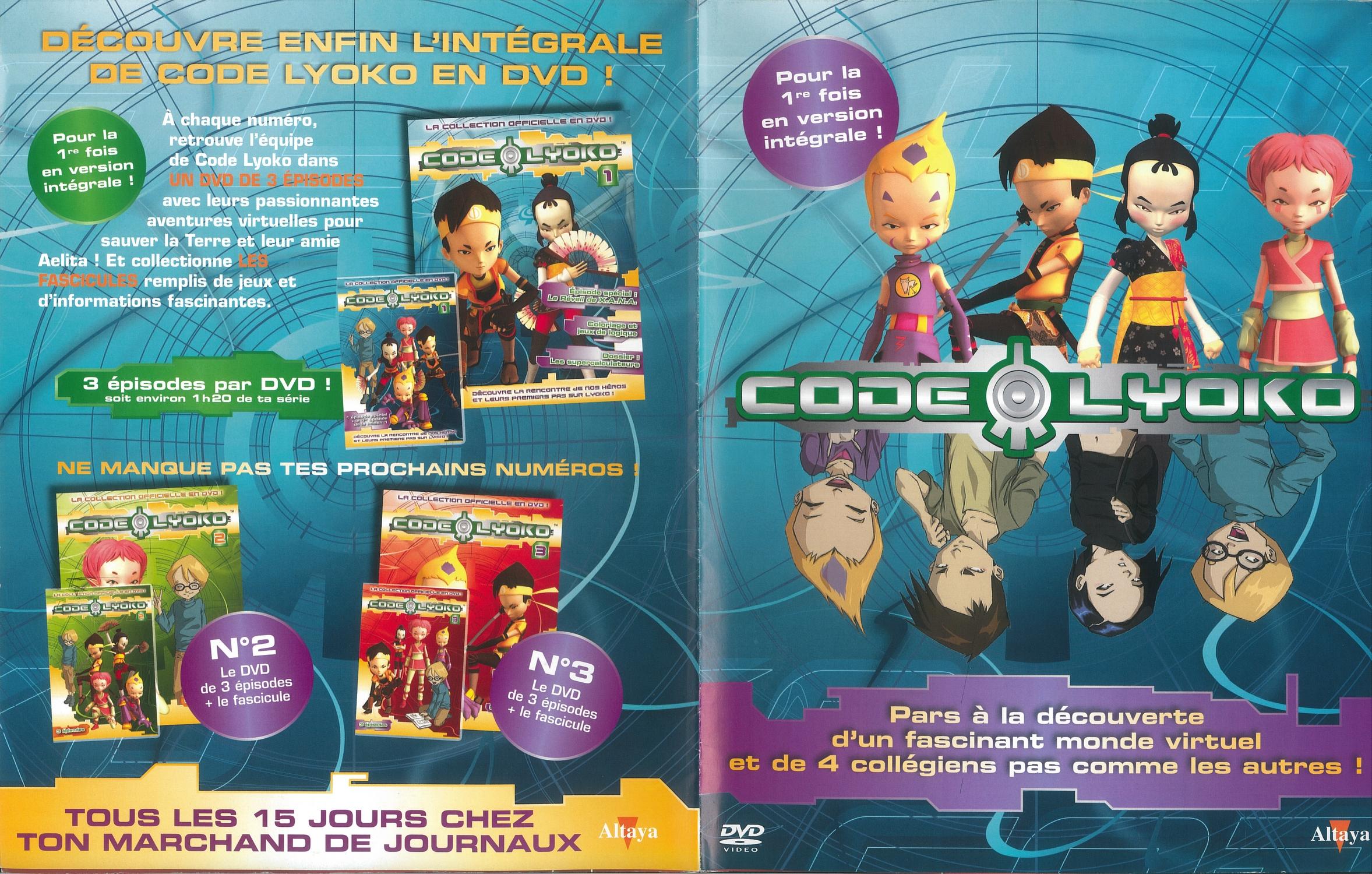 Home • Code Lyoko - CodeLyoko Fr