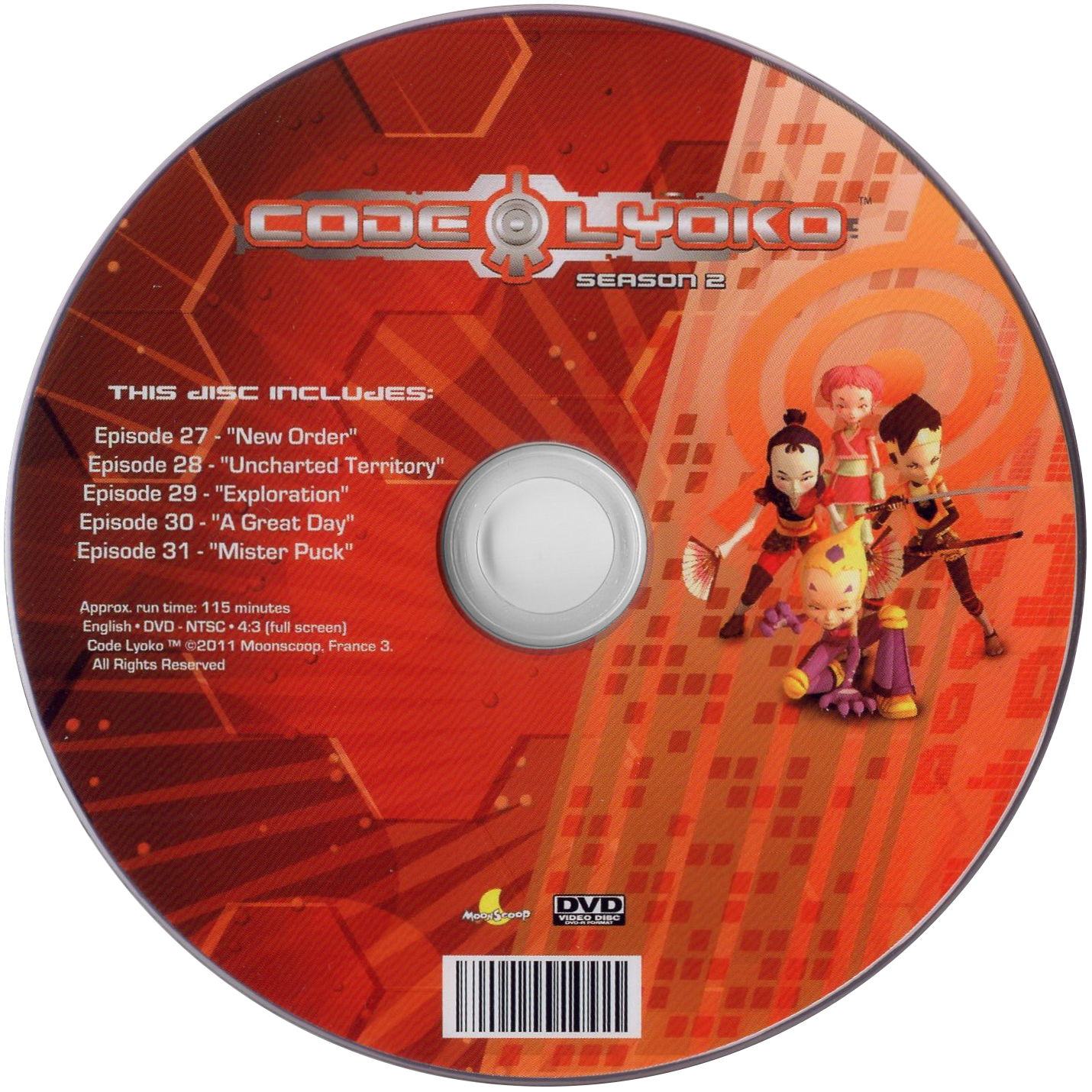 Related Products English Dvds Code Lyoko Codelyoko Fr