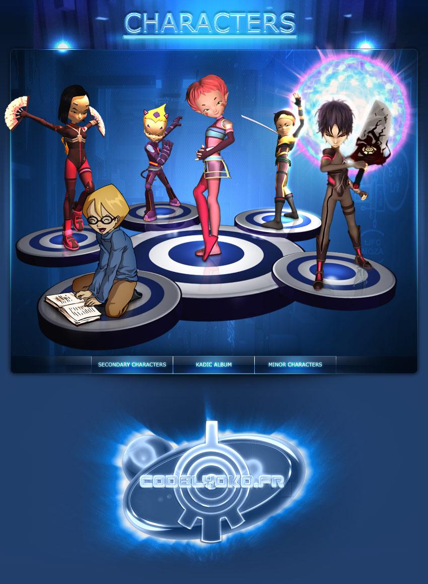 Code Lyoko - Personnages - CodeLyoko.Fr
