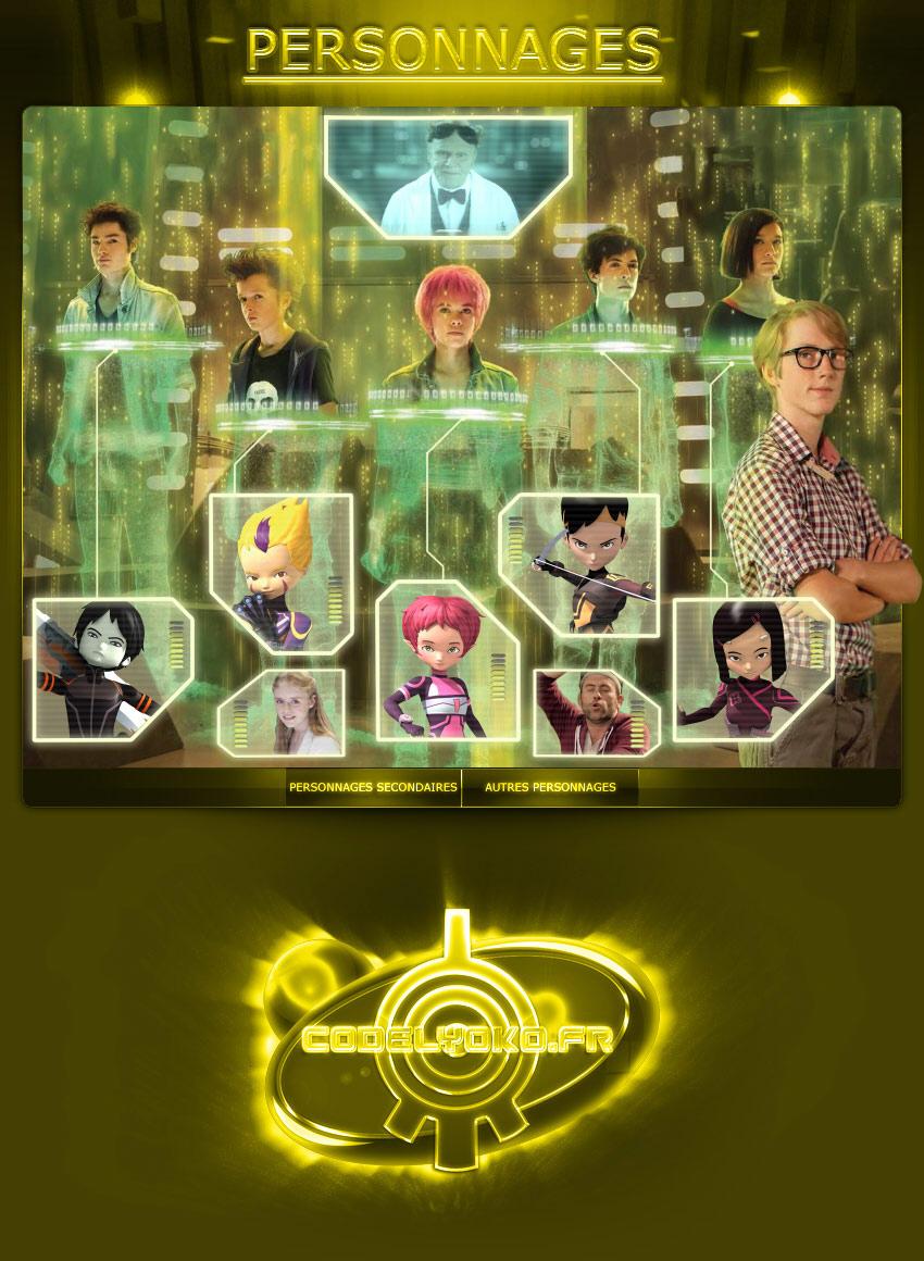 Code Lyoko - Personnages CLE - CodeLyoko.Fr